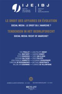 TENDENZEN IN HET BEDRIJFSRECHT NR. 23 SOCIAL MEDIA: RECHT OF ANARCHIE