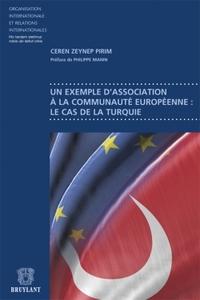 UN EXEMPLE D'ASSOCIATION A LA COMMUNAUTE EUROPEENNE: LE CAS DE LA TURQUIE
