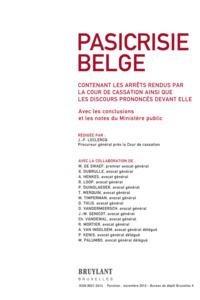 PASICRISIE BELGE 2012/6