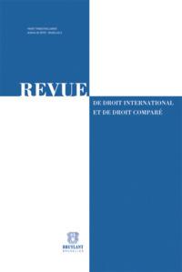 REV. DROIT INTERN. ET COMPARE 2013/2