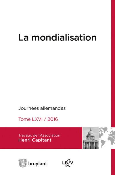JOURNEES INTERNATIONALES DE L'ASSOCIATION HENRI CAPITANT