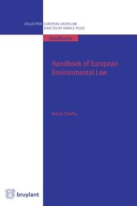 HANDBOOK OF EUROPEAN ENVIRONMENTAL LAW