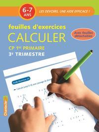 FEUILLES D'EX CALCULER (6-7 A) 3E TRIMESTRE