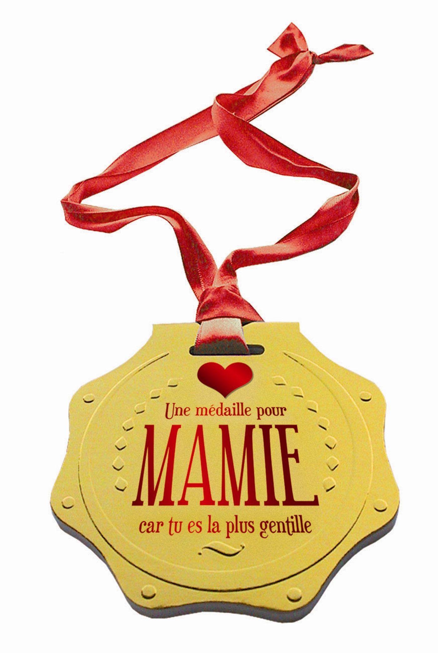 MEDAILLE POUR MAMIE (UNE)