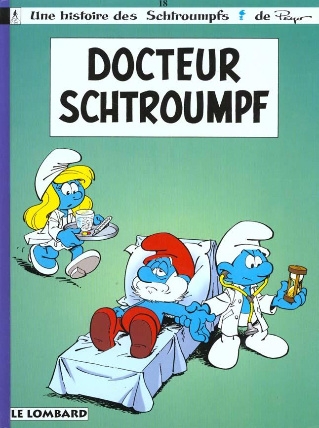 LES SCHTROUMPFS T18 DOCTEUR SCHTROUMPF