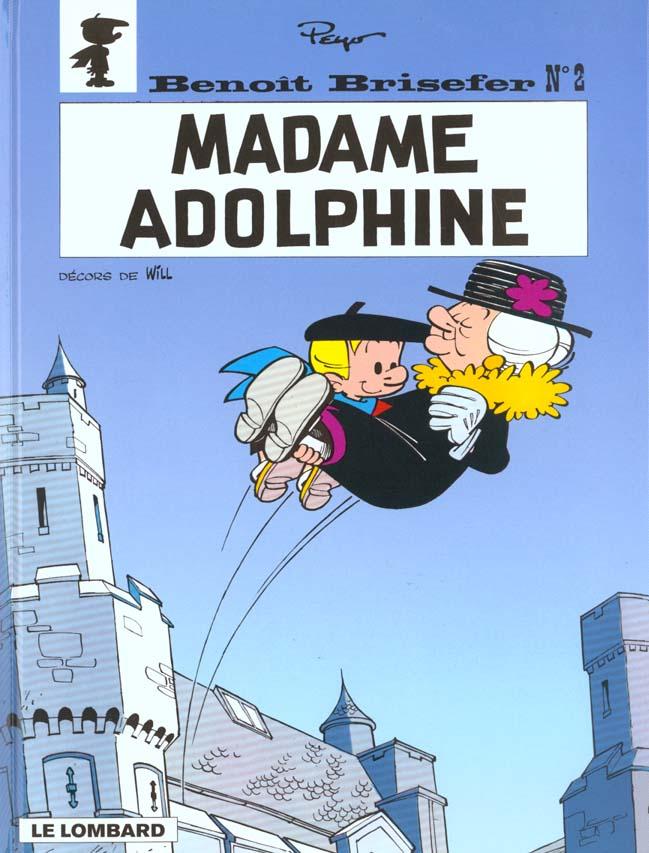 MADAME ADOLPHINE - BENOIT BRISEFER - T2