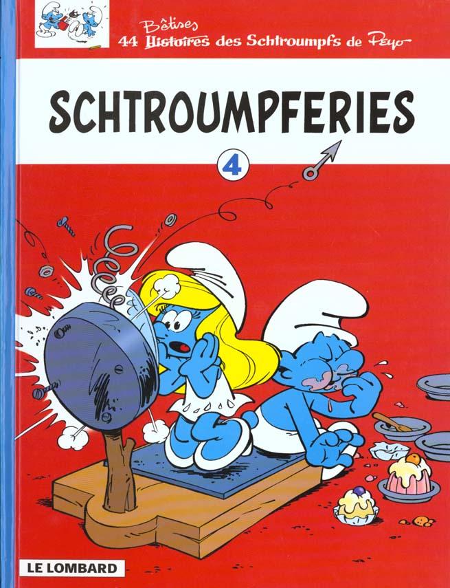 SCHTROUMPFERIES T4 - LES SCHTROUMPFS