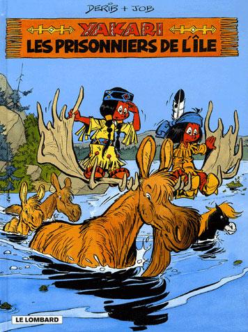 YAKARI T9 LES PRISONNIERS DE L'ILE