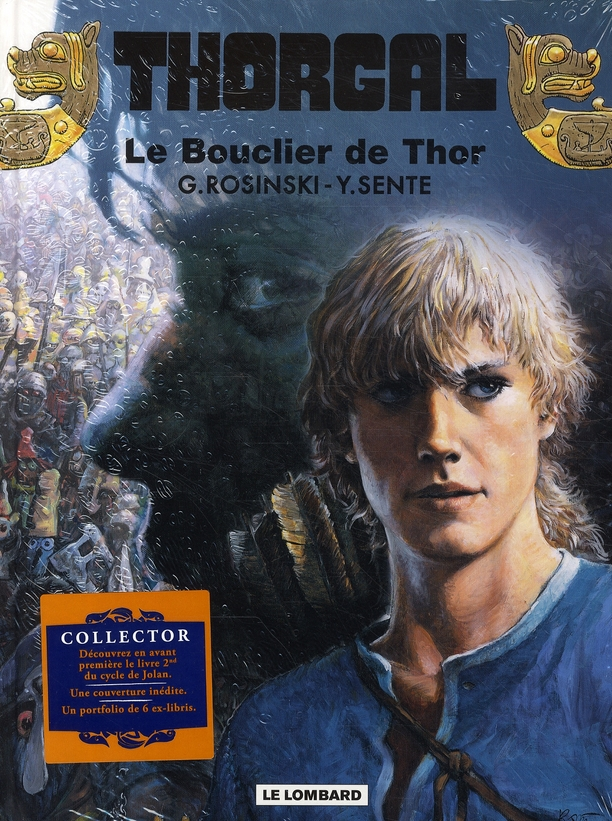 COLLECTOR THORGAL T31 LE BOUCLIER DE THOR  + PORTFOLIO COLLECTOR