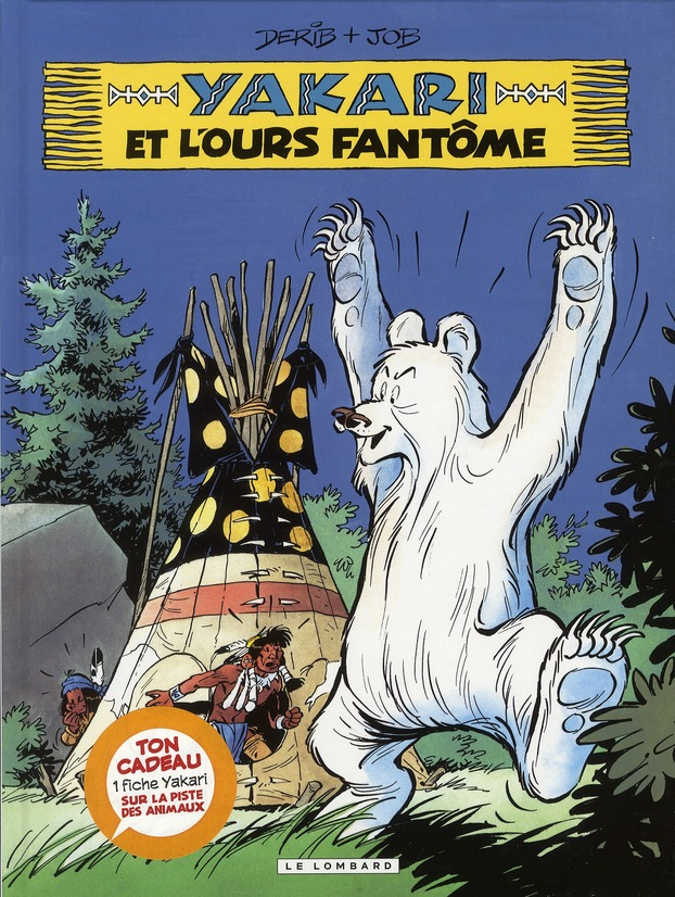 T24 - YAKARI ET L'OURS FANTOME