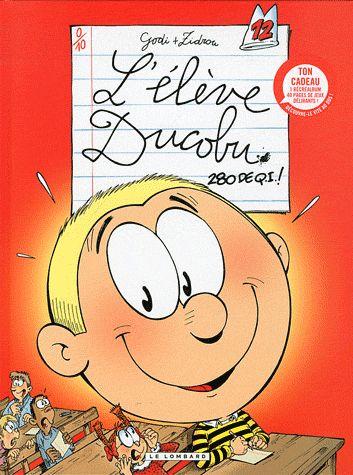 ELEVE DUCOBU + LIVRE JEUX 2011 - T12 - 280 DE QI + LIVRE JEUX B