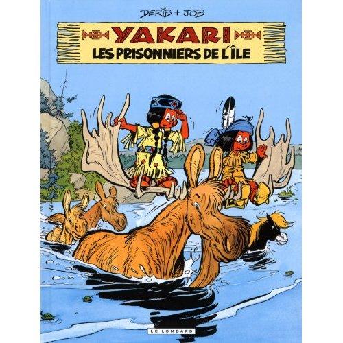 YAKARI - TOME 9 - LES PRISONNIERS DE L'ILE (VERSION 2012)
