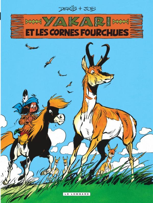 YAKARI - TOME 23 - YAKARI ET LES CORNES FOURCHUES (VERSION 2012)