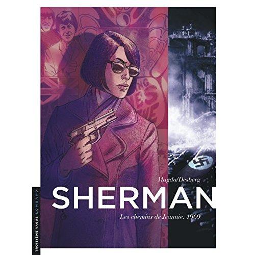 SHERMAN - TOME 8 - LES CHEMINS DE JEANNIE. 1969