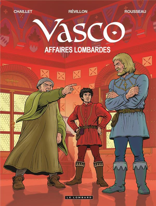 VASCO T29 VASCO - TOME 29 - AFFAIRES LOMBARDES