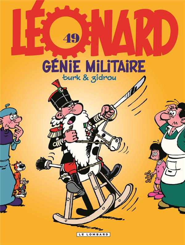 LEONARD T49 LEONARD - TOME 49 - GENIE MILITAIRE