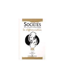 SOCIETES 98/3 LA DIFFERENCIATION