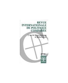 REVUE INTERNATIONALE DE POLITIQUE COMP. CRISE DE LA GOUVERNANCE ET GLOBALISATION