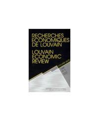 RECHERCHES ECONOMIQUES DE LOUVAIN 65/3 VOL 65/1999/3