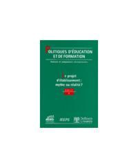 POLITIQUES D'EDUCATION ET DE FORMATION 2001/1