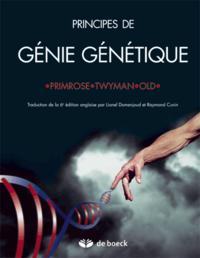 PRINCIPES DE GENIE GENETIQUE