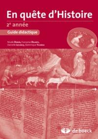 EN QUETE D'HISTOIRE 2E GUIDE PEDAGOGIQUE