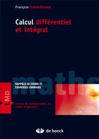 CALCUL DIFFERENTIEL ET INTEGRAL - EXERCICES ET PROBLEMES CORRIGES