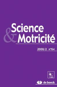 SCIENCE ET MOTRICITE 2008/2 N.64