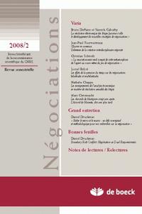 NEGOCIATIONS 2008/2 N.10