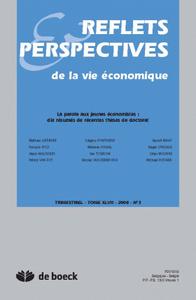 REFLETS ET PERSPECTIVES VIE ECONOMIQUES 2008/3