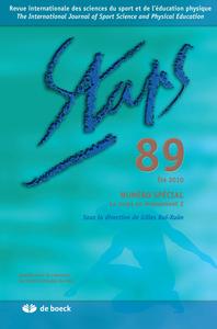 STAPS 2010/3 N.89 LE CORPS EN MOUVEMENT 2