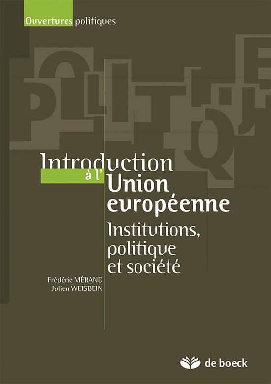 INTRODUCTION A L'UNION EUROPEENNE