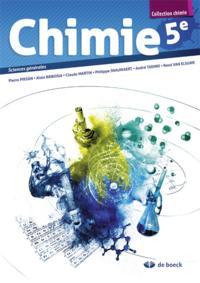 CHIMIE 5E  MANUEL 2P/SEMAINE SCIENCES GENERALES