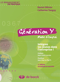GENERATION Y. MODE D'EMPLOI