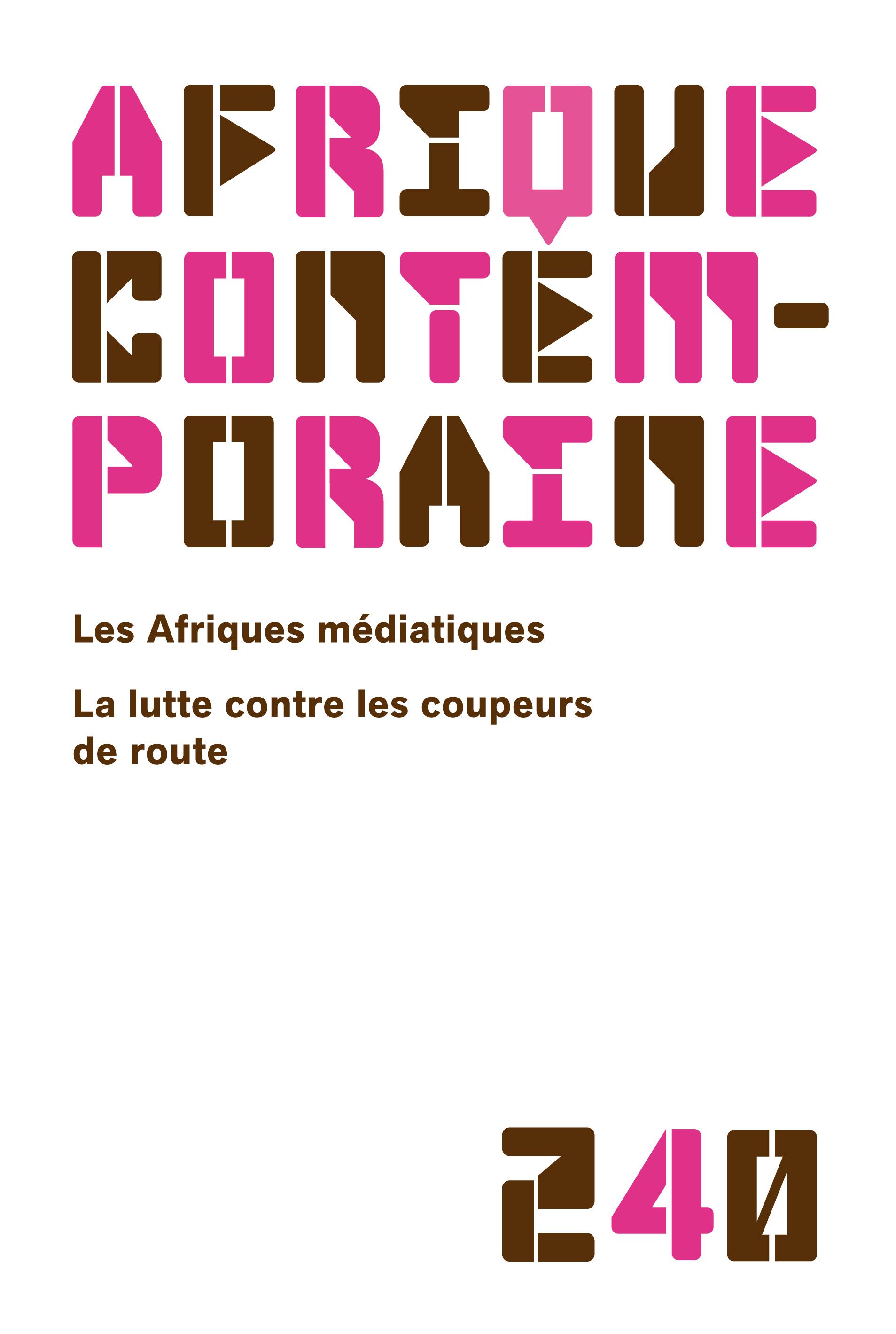 AFRIQUE CONTEMPORAINE 2011/4 N.240