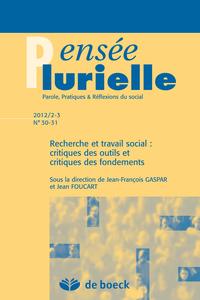PENSEE PLURIELLE 2012/2-3 N.30-31