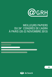 REVUE GRH 2013/3