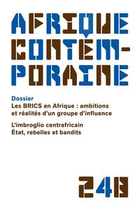 AFRIQUE CONTEMPORAINE 2013/4 N.248
