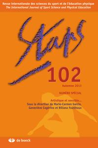 STAPS 2013/4 N.102 ARTISTIQUE ET SENSIBLE