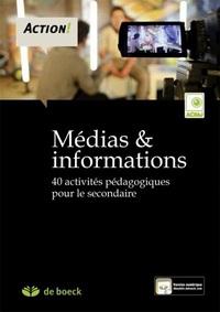 SCIENCES HUMAINES  MEDIAS ET INFORMATIONS – 40 ACTIVITES PEDAGOGIQUES POUR LE SECONDAIRE