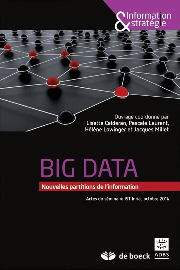 BIG DATA : NOUVELLES PARTITIONS DE L'INFORMATION