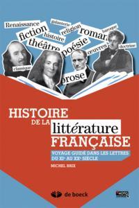 HISTOIRE DE LA LITTERATURE FRANCAISE