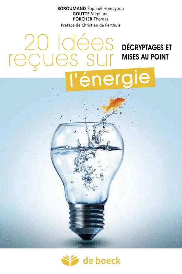 20 IDEES RECUES SUR L'ENERGIE