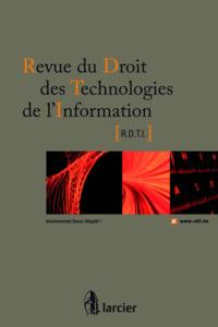 REV. DROIT TECHN. DE L'INFO 2012/2 N 47
