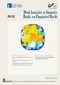 DROIT BANCAIRE...FINANCIEEL RECHT 2013/2