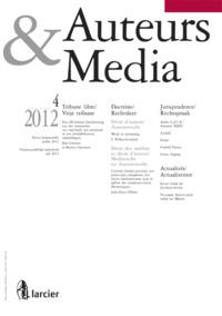 AUTEURS  MEDIA  2012/4