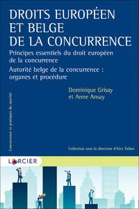 INTRODUCTION AU DROIT BELGE DE LA CONCURRENCE