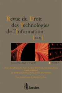 REV. DROIT TECHN. DE L'INFO 2013/2 N 51