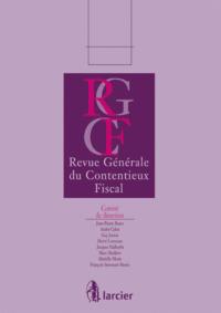 REV. GENERALE DU CONTENTIEUX FISCAL 13/2