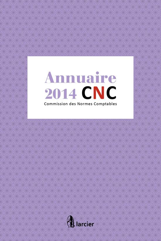 ANNUAIRE  2014 CNC - COMMISSION DES NORMES COMPTABLES